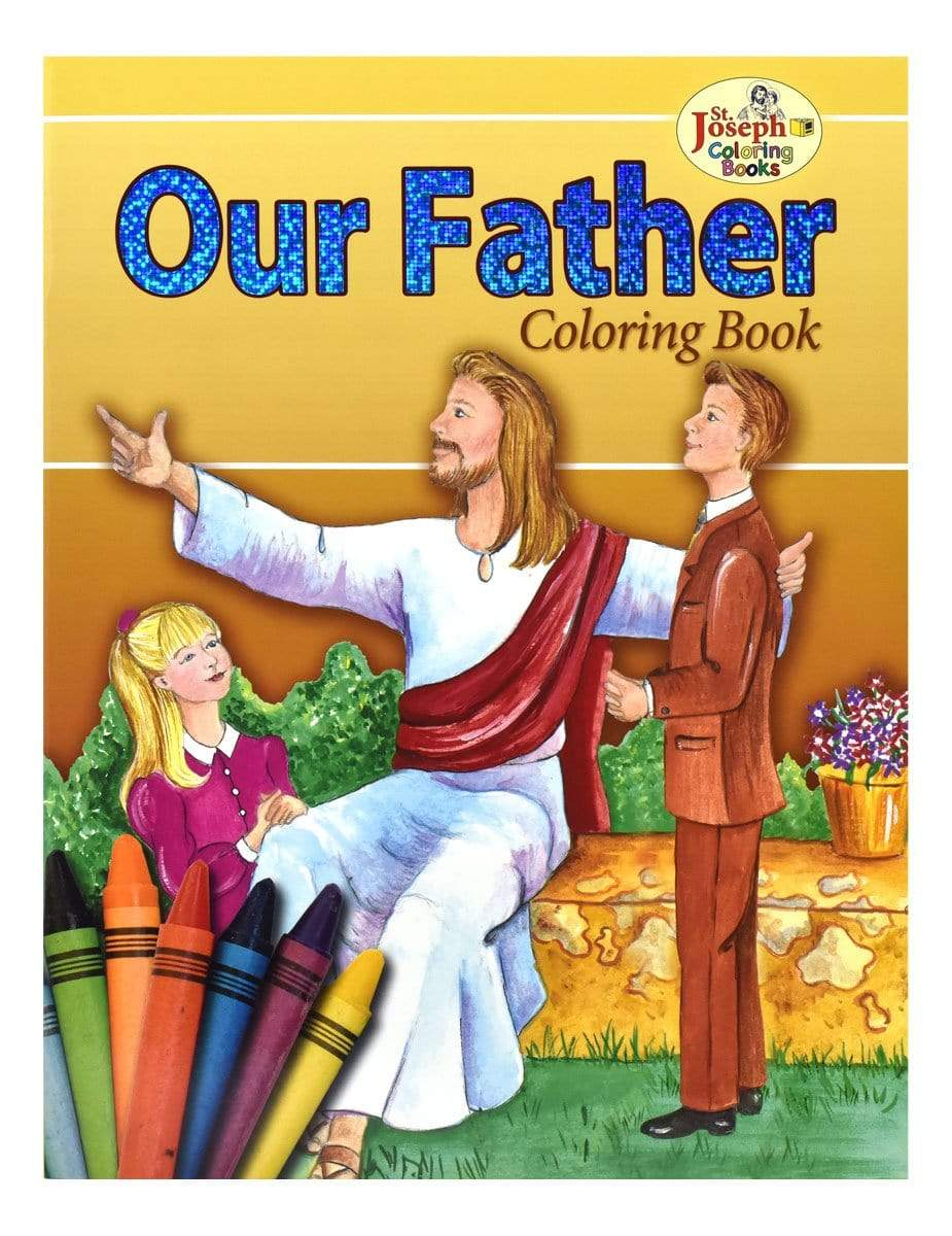 Our Father Coloring Book - A Lost Sheep Catholic Store