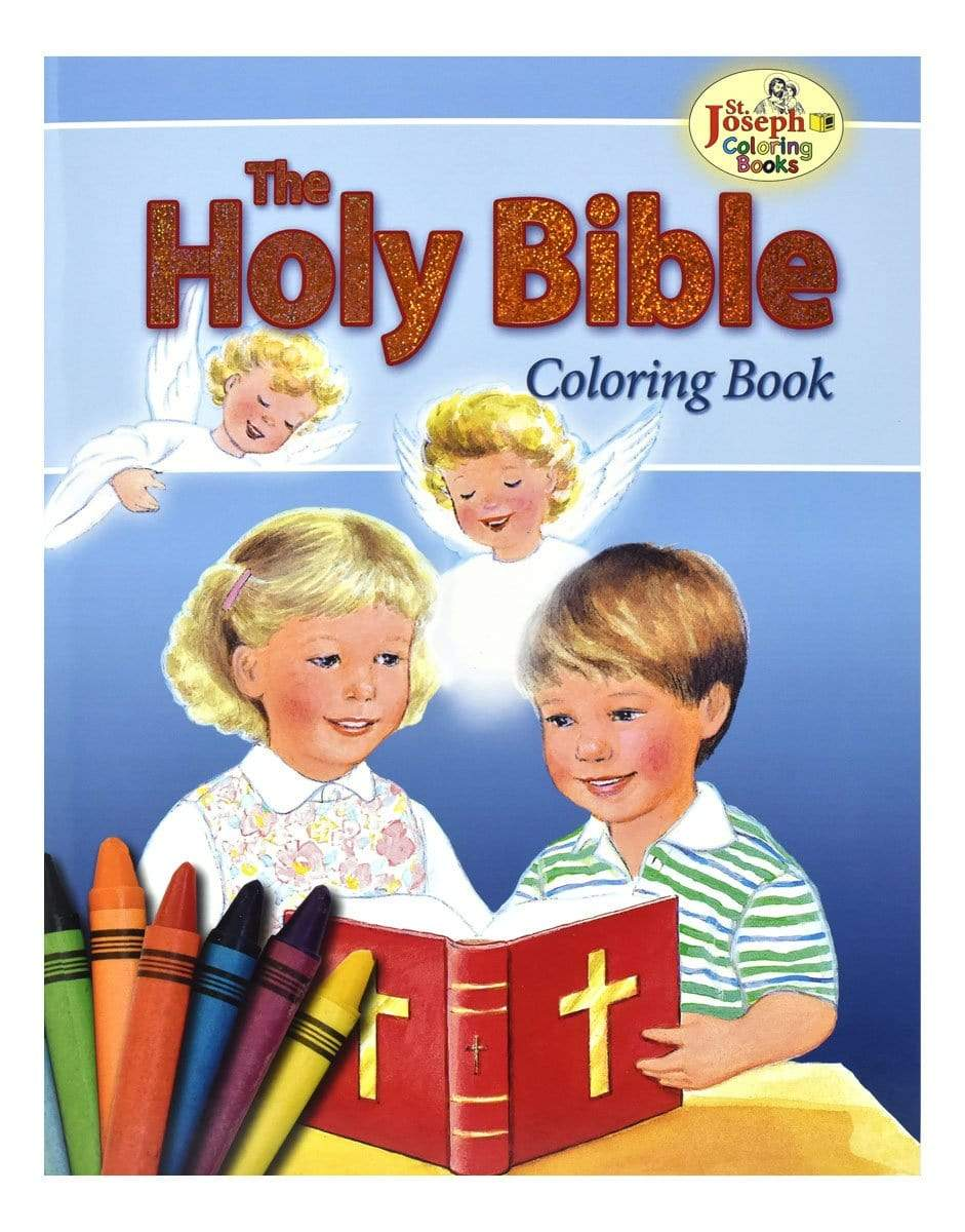 The Holy Bible Coloring Book - A Lost Sheep Catholic Store