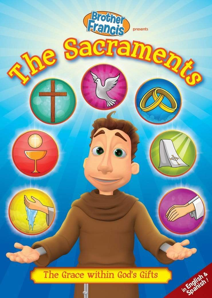 Brother Francis #12, The Sacraments - A Lost Sheep Catholic Store