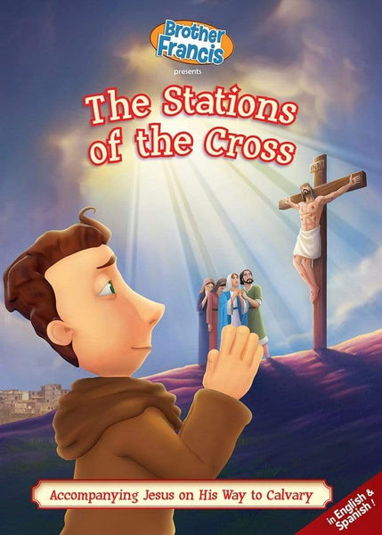 Brother Francis #14, Stations of the Cross - A Lost Sheep Catholic Store