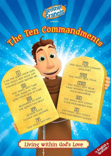 Brother Francis #16, The Ten Commandments - A Lost Sheep Catholic Store