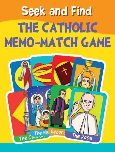 Seek and Find: The Catholic Memo-Match Game - A Lost Sheep Catholic Store
