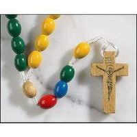 Multi-color Children's Cord Rosary - A Lost Sheep Catholic Store