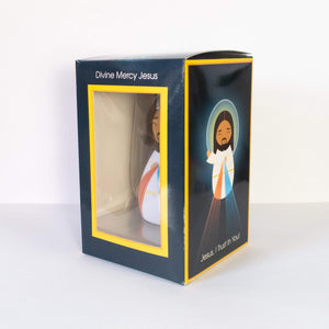 Divine Mercy Jesus Shining Light Doll - A Lost Sheep Catholic Store