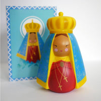 Our Lady of Aparecida Shining Light Doll - A Lost Sheep Catholic Store