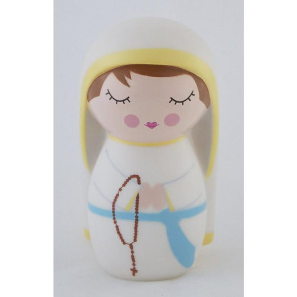Our Lady of Lourdes Shining Light Doll - A Lost Sheep Catholic Store