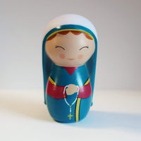 Saint Bernadette Soubirous Shining Light Doll - A Lost Sheep Catholic Store