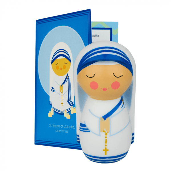 Saint Mother Teresa of Calcutta Shining Light Doll - A Lost Sheep Catholic Store