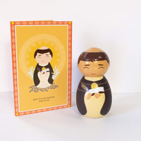 Saint Thomas Aquinas Shining Light Doll - A Lost Sheep Catholic Store