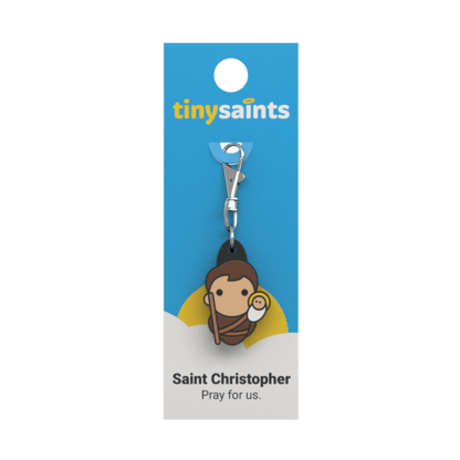 Tiny Saint - Saint Christopher - A Lost Sheep Catholic Store