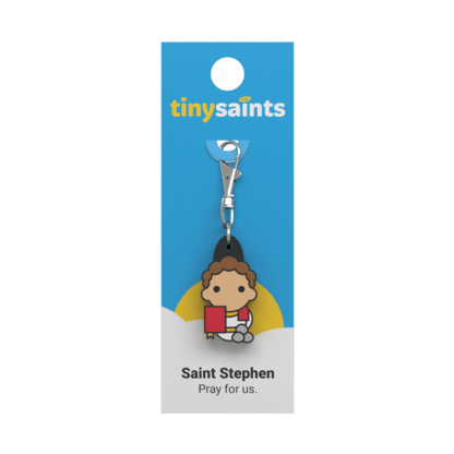 Tiny Saint - Saint Stephen - A Lost Sheep Catholic Store