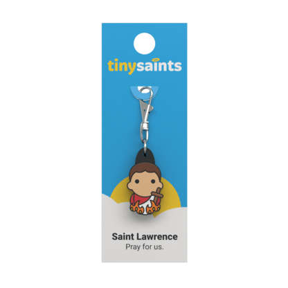 Tiny Saint - St. Lawrence - A Lost Sheep Catholic Store