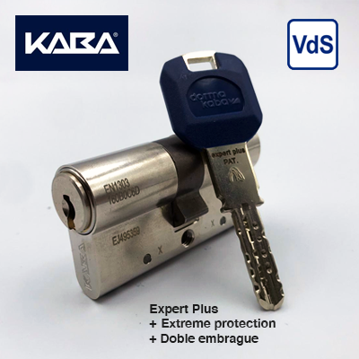 Cilindro seguridad Kaba Expert Plus Extreme Protection + Doble embrague