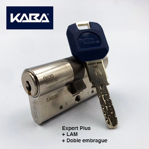 Cilindro seguridad Kaba Expert Plus LAM + Doble embrague