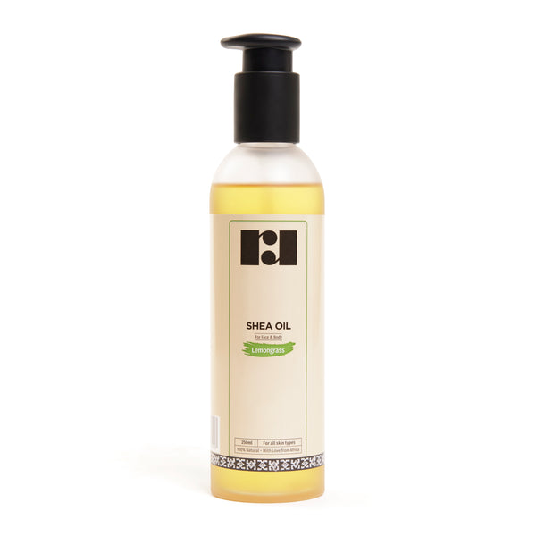 Shea Oil - Lemongrass 250ml
