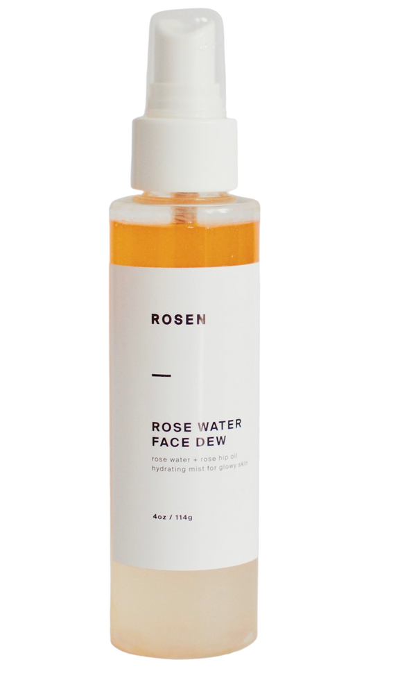 Rose Water Face Dew Hydrating Mist 4oz/120ml