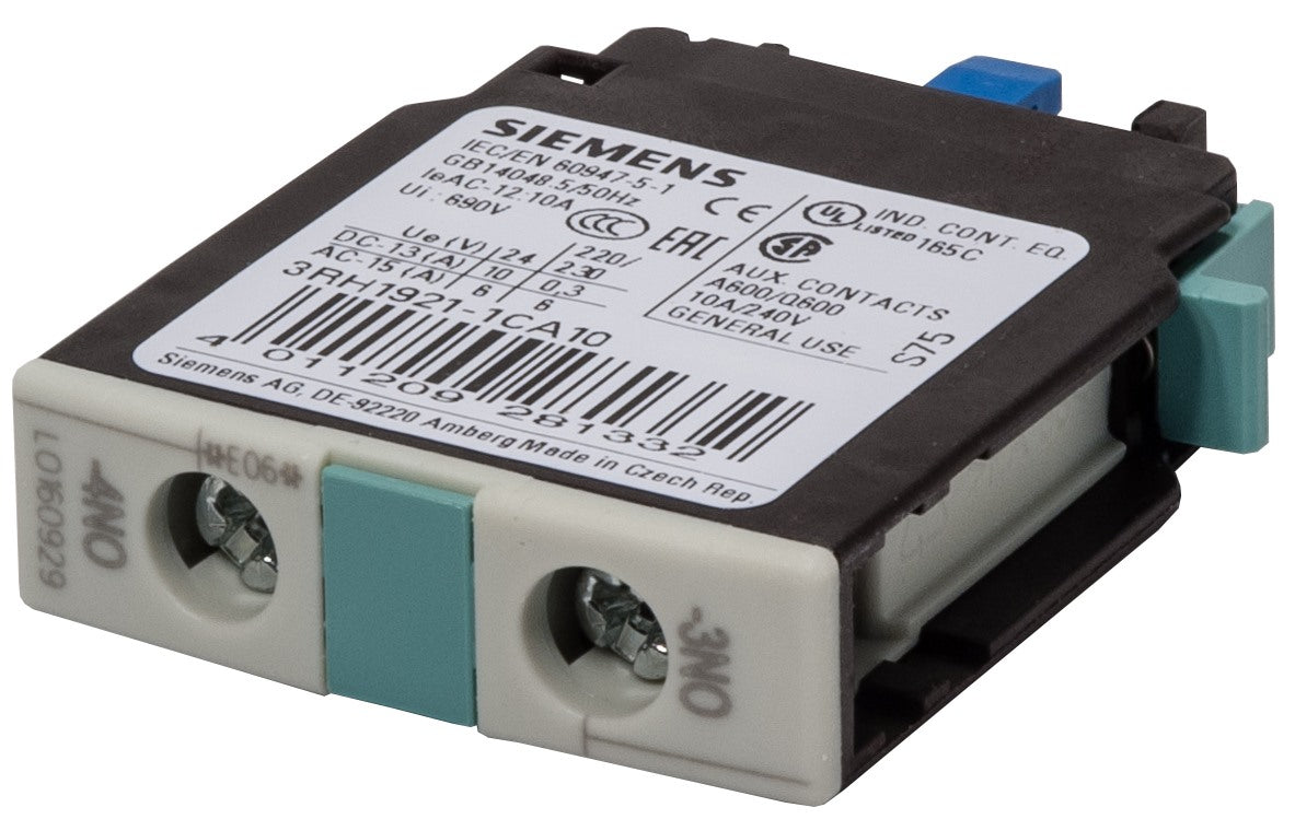 3RH1921-1CA10 Siemens Auxiliary Contact Block