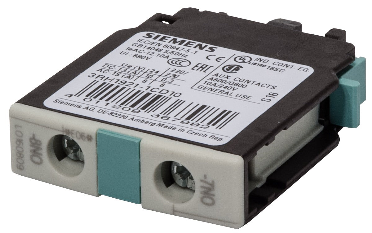 3RH1921-1CD10 Siemens Auxiliary Contact Block