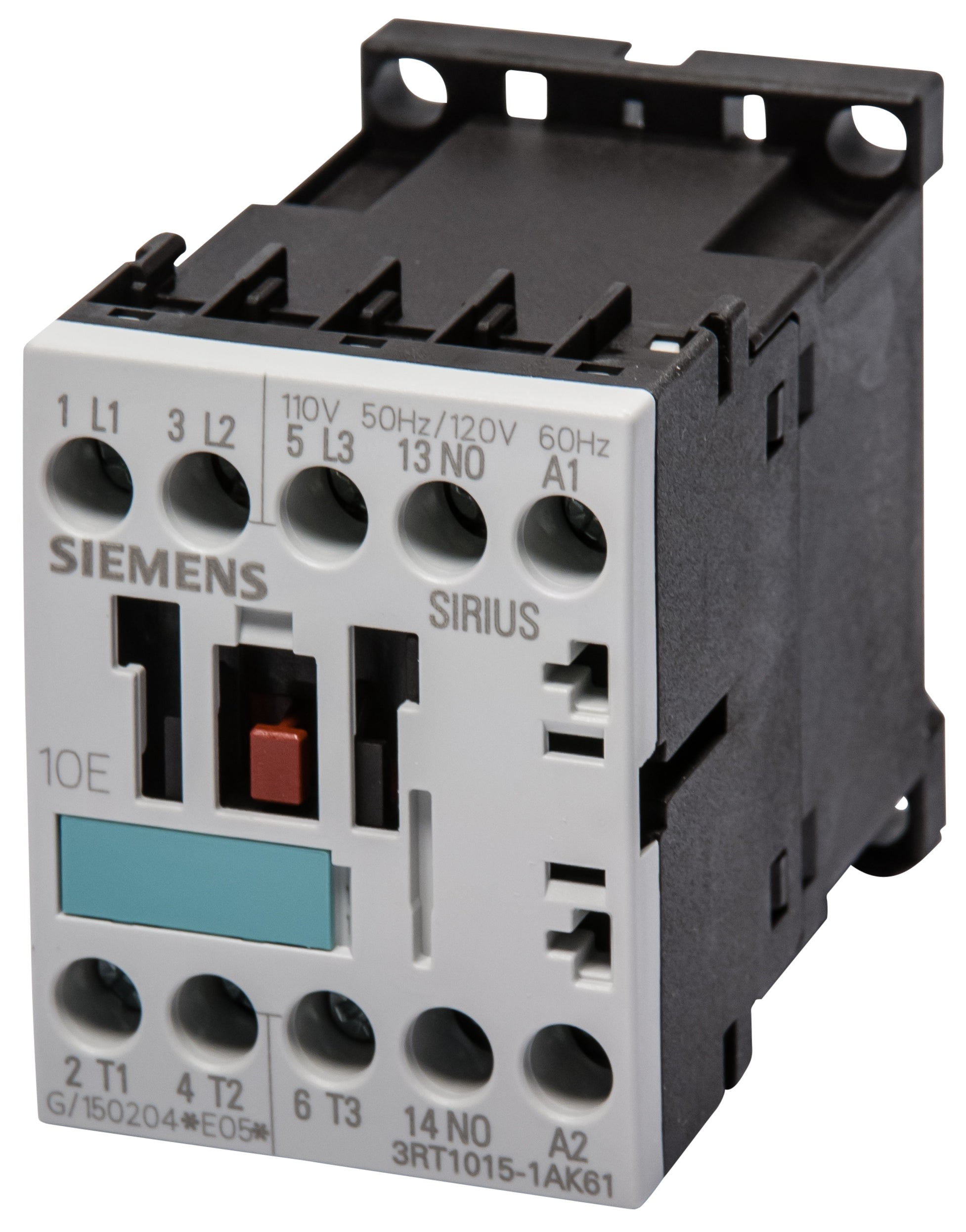 3rt Contactors Siemens Sirius Wiring Diagram For 120v Coil Contactor 3rt1015 1ak61