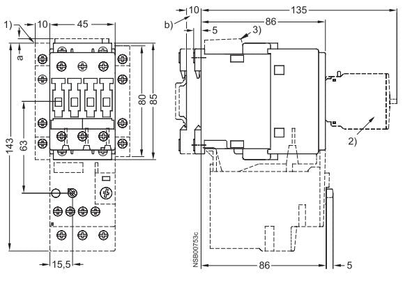 3rt1026-1a-dimensions