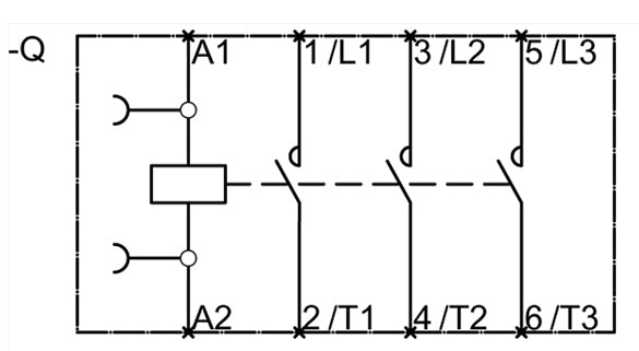 3RT1046-1AC20 Contact Sequence