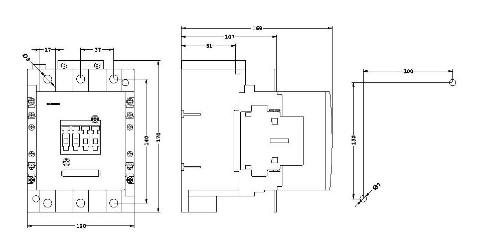 3rt1055-6...6-dimensions