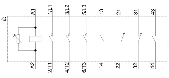 3RT1065-6AR36 Contact Sequence