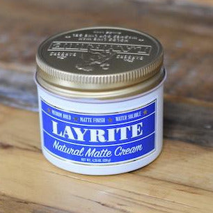 LAYRITE NATURAL MATTE CREAM 4.25 OZ.