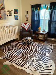 Zebra 100 Brown & White - 7