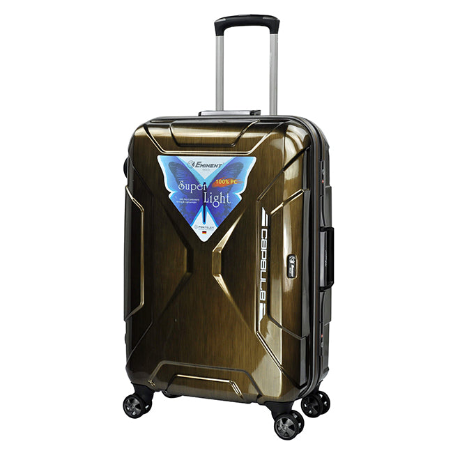 Eminent Carry-on Travel Luggage Bag 4-Twin 360° Wheel Trolley (E9F7-20)