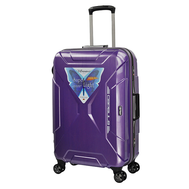 Eminent Luggage Set of 3 Bags 4-Twin 360° Wheel Trolley (E9F7-3)