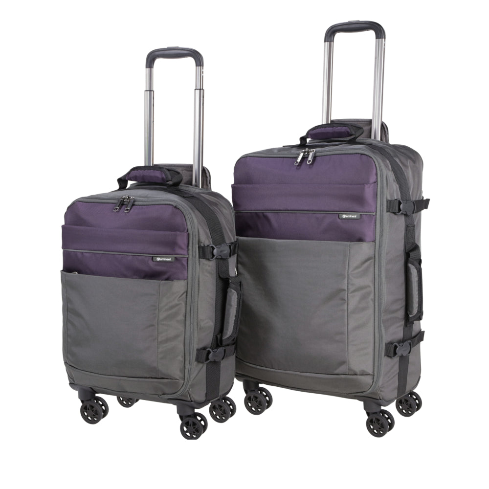 Luggage set of two by Eminent (E6214D-2) - buyluggageonline