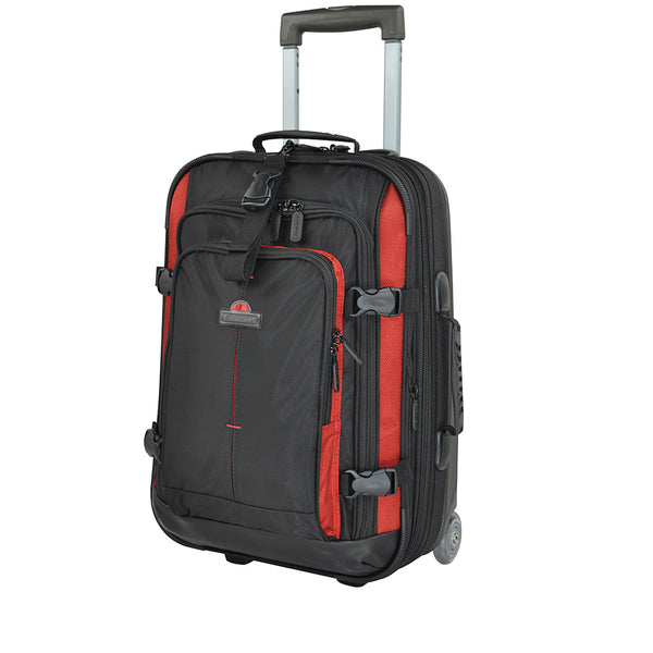 Eminent 25 inch checked luggage trolley (AL04-25) - buyluggageonline