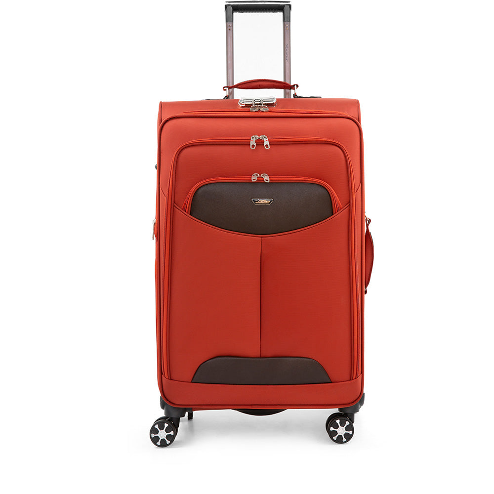 Large size checked luggage trolley by Senator (X08-28)