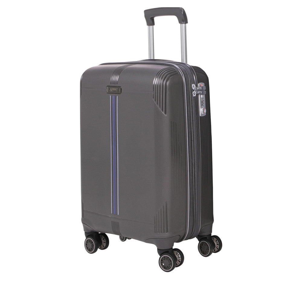 Checked luggage trolley bag by Summit (PP807T4-28) - buyluggageonline