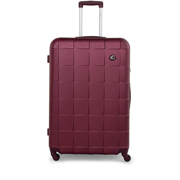 Senator Checked Luggage trolley (A207-24) - buyluggageonline