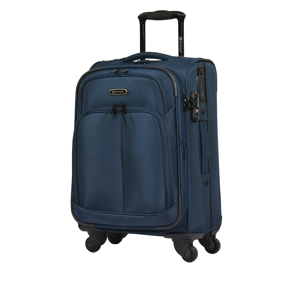 Eminent hand luggage soft trolley bag for travel (V481A-20) - buyluggageonline