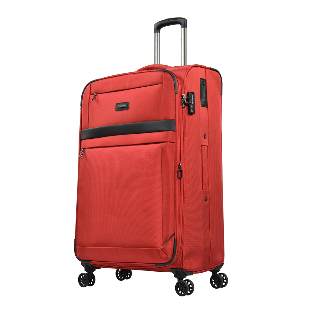 "Eminent hand luggage trolley 20"" soft 1680D Nylon Spinner Carry-on ( S0550-20) - buyluggageonline"