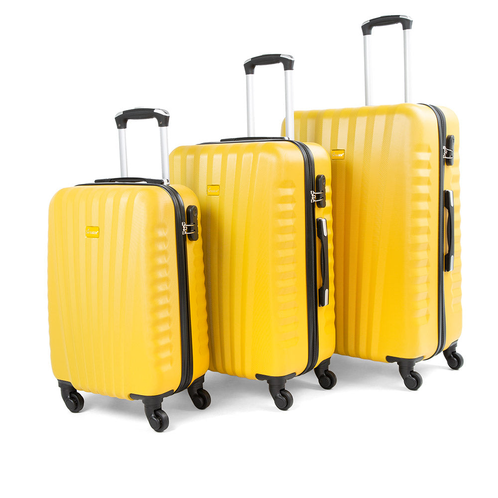 Senator 3 piece trolley Luggage set (KH1008-3) - buyluggageonline