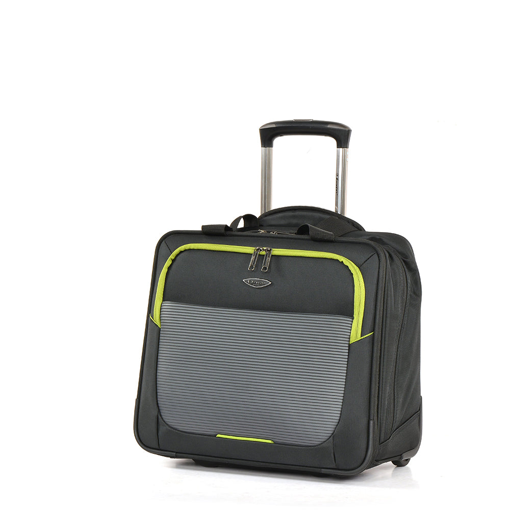 Pilotcase by Eminent luggage trolley handbag  perfect for travelling (V754-17 BK) - buyluggageonline