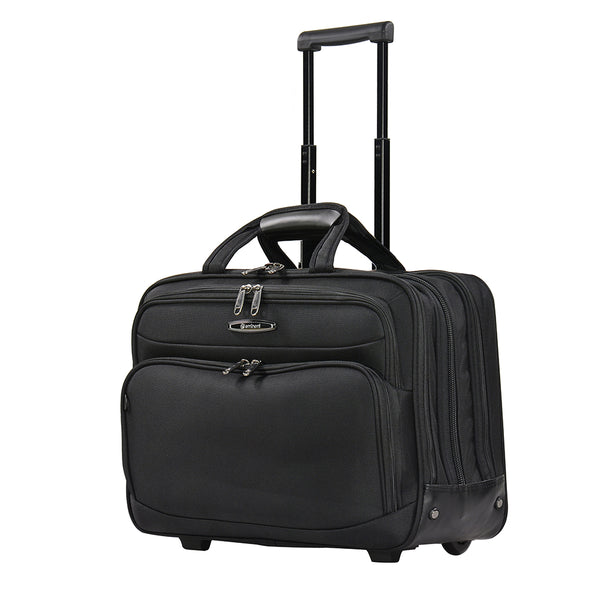 Eminent cabin bag Safe Zipper Pilot Case with Trolley and two wheels (V021-3-SZ-18) - buyluggageonline