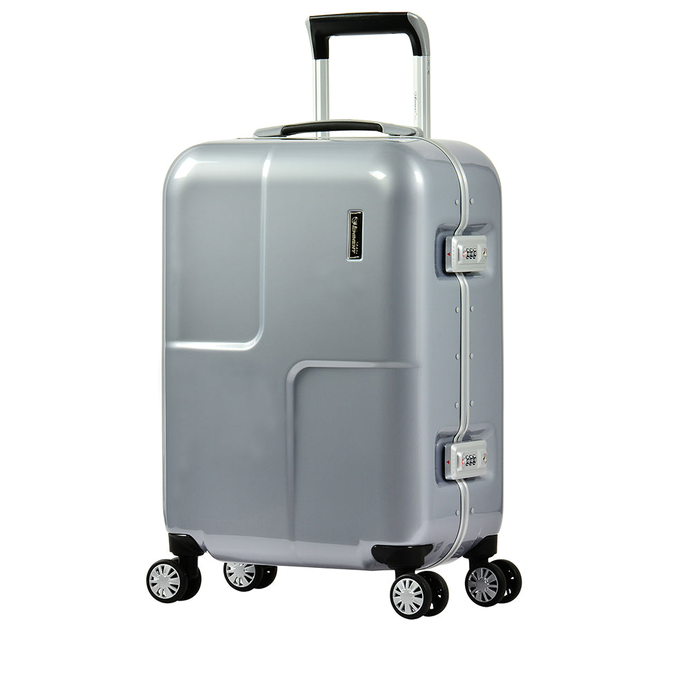 "28"" Eminent checked luggage PC Mirror Spinner trolley case (E9L0-Mirror-28) - buyluggageonline"