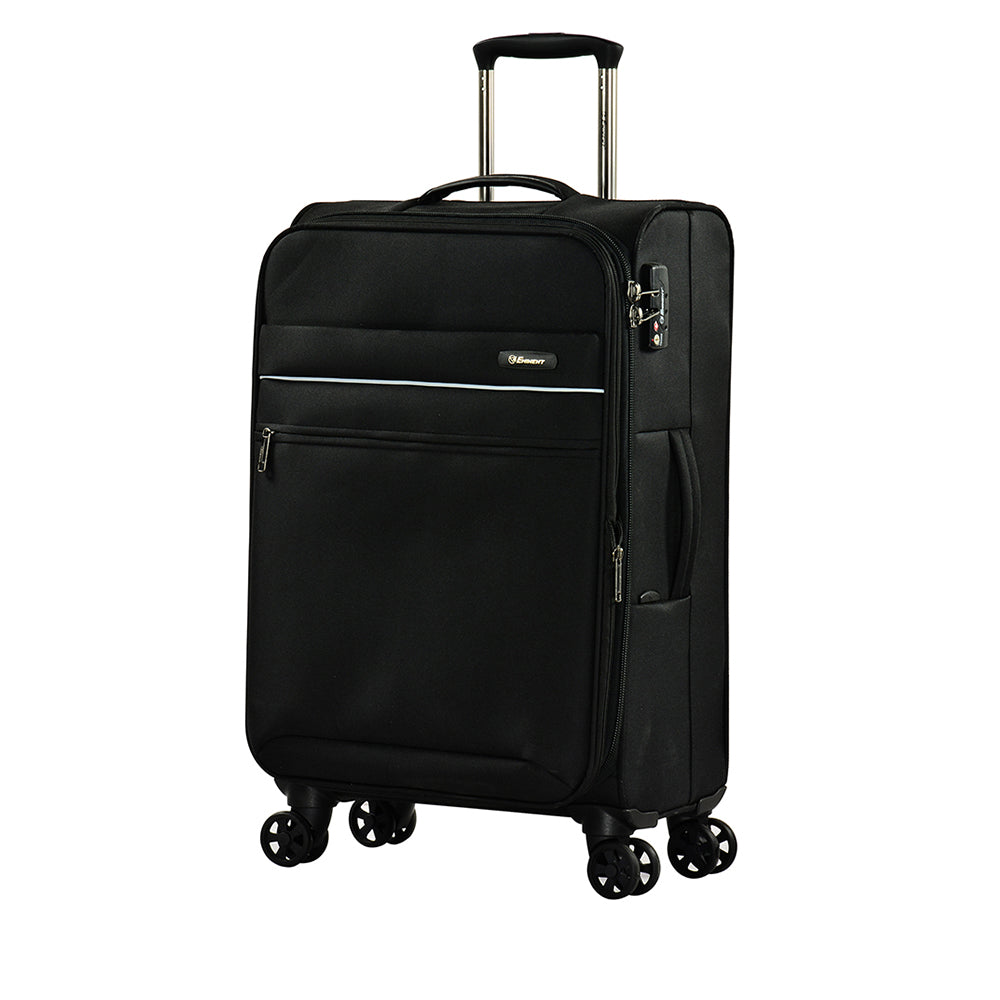 "Eminent checked baggage 28"" Dionysus soft spinner twin luggage trolley case (V773-28) - buyluggageonline"