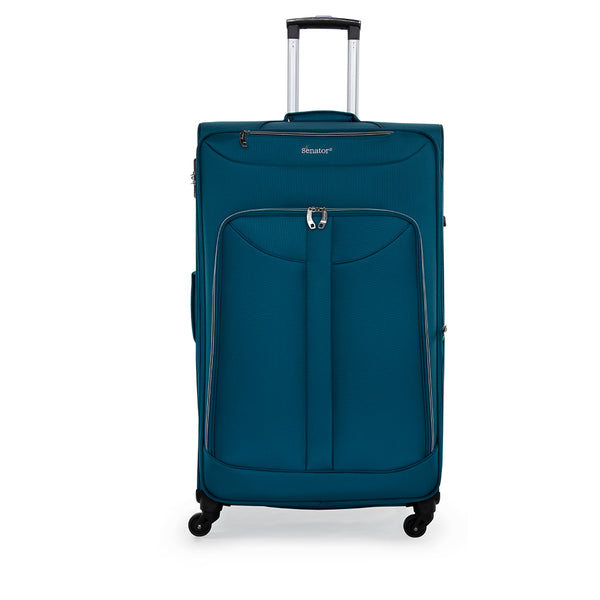 "28"" Softside checked trolley bag by Senator luggage (LW010-28) - buyluggageonline"