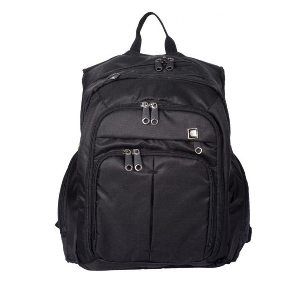 Eminent travel bag black Backpack with Laptop Compartment [E5803-18] - buyluggageonline