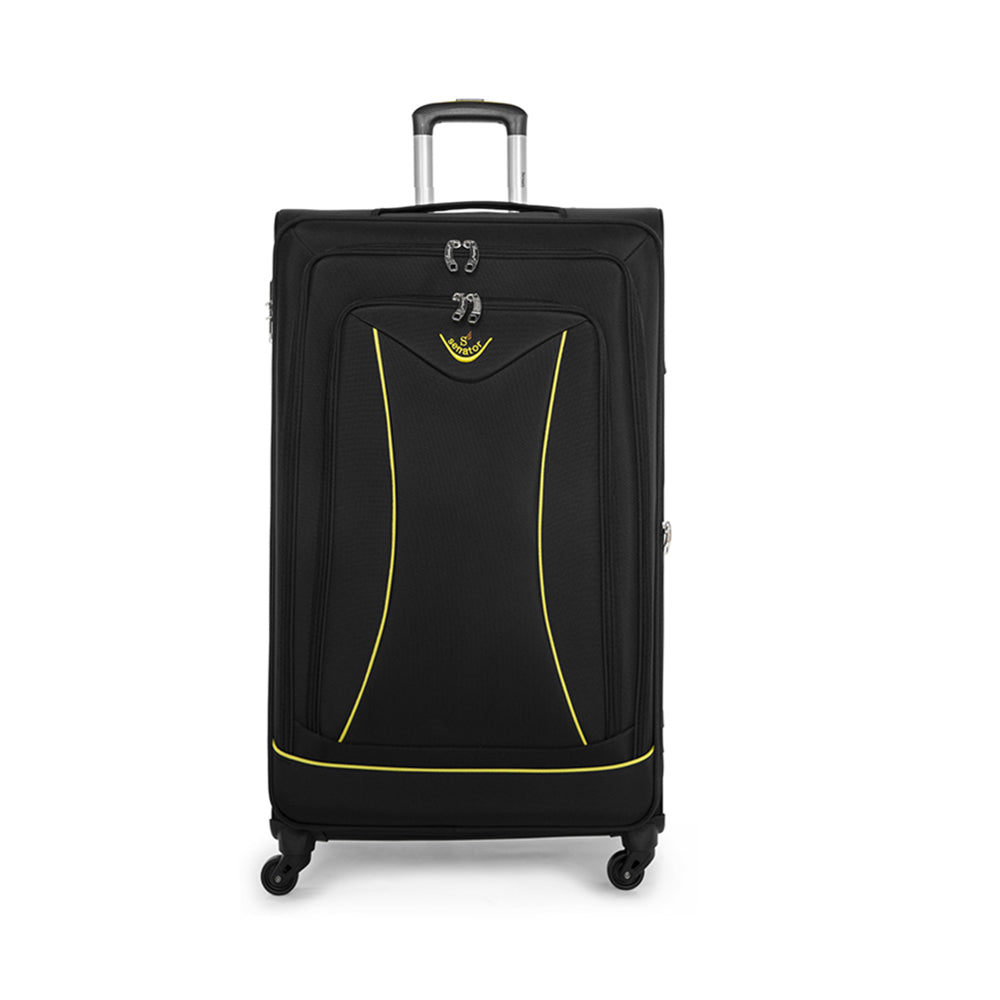 Senator luggage soft spinner cabin trolley case (LL032-20) - buyluggageonline