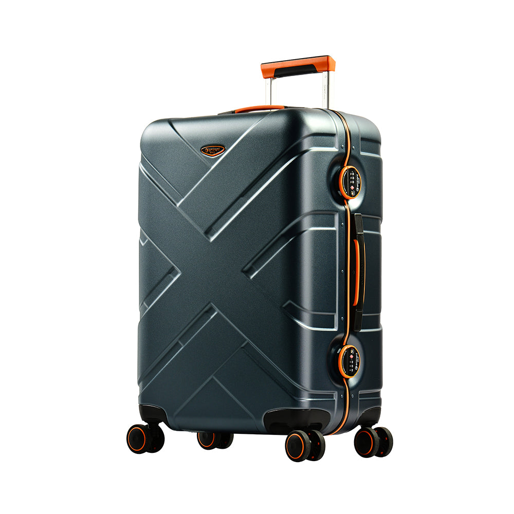 "Eminent cabin bag 20"" PC Matt nile 4 twin wheel trolley (E9PO-20): - buyluggageonline"