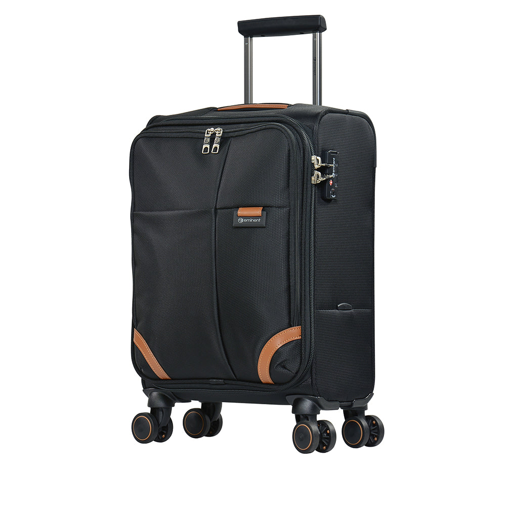 Fashionable carry-on trolley bag by Eminent luggage (R0350-20) - buyluggageonline