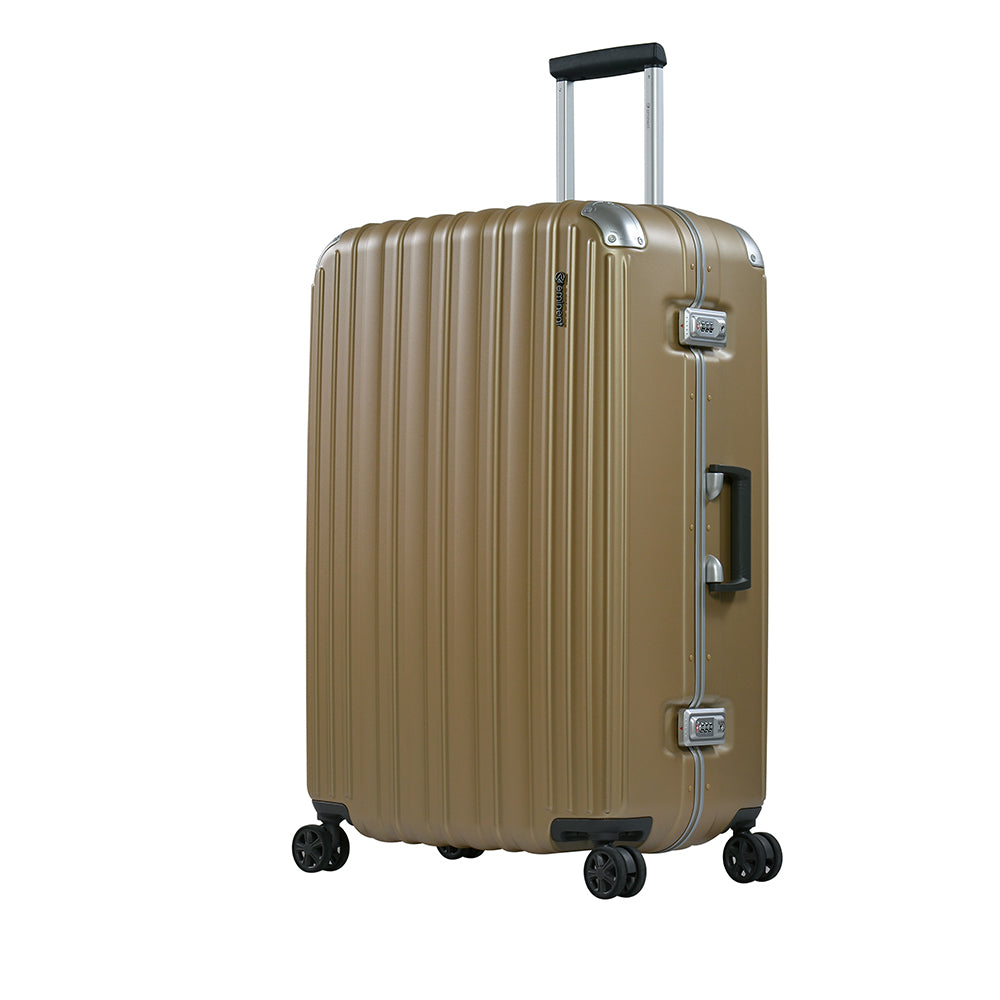 "Eminent branded 28"" PC Frame checked size  Light Weight Spinner Trolley bag (E9R5-28) - buyluggageonline"