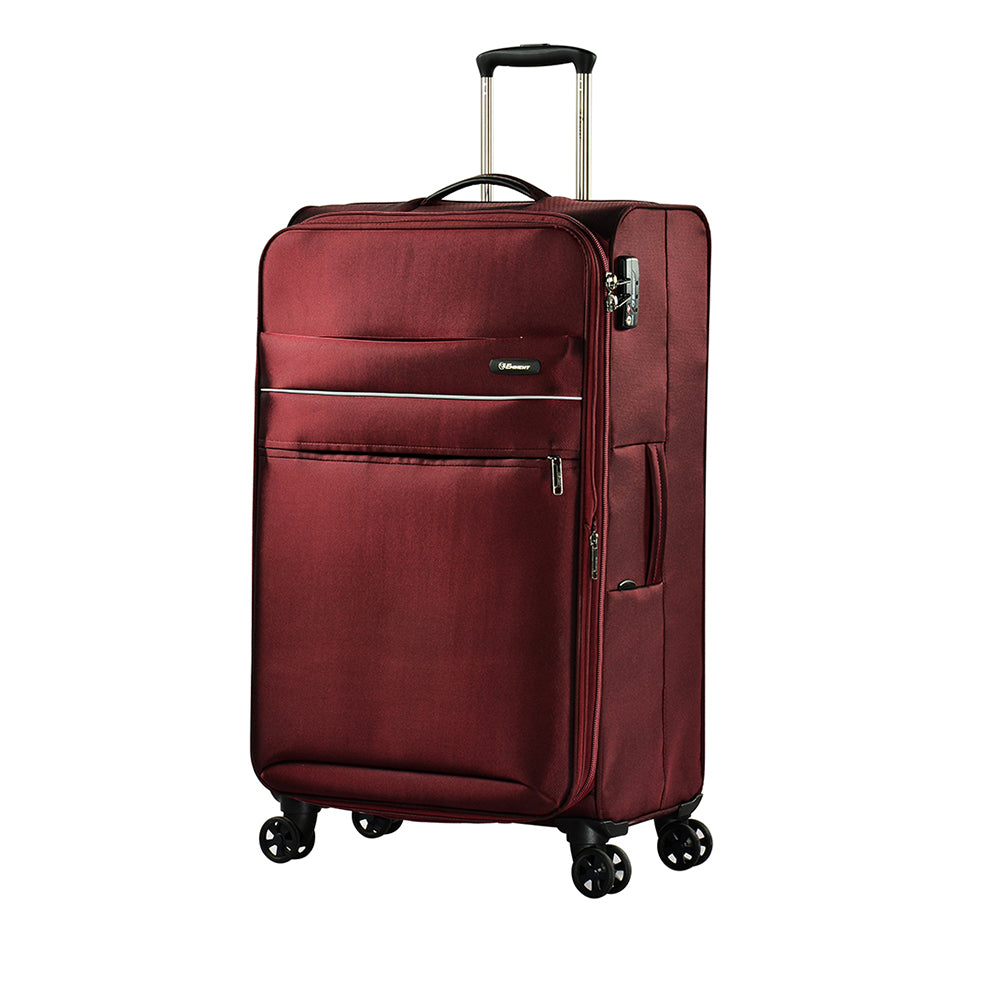 "Eminent branded travel bag 24"" Dionysus soft spinner twin checked trolley case (V773-24) - buyluggageonline"